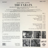 Back cover of Kicks, Hits and Flips by The Exbats on Burger Records