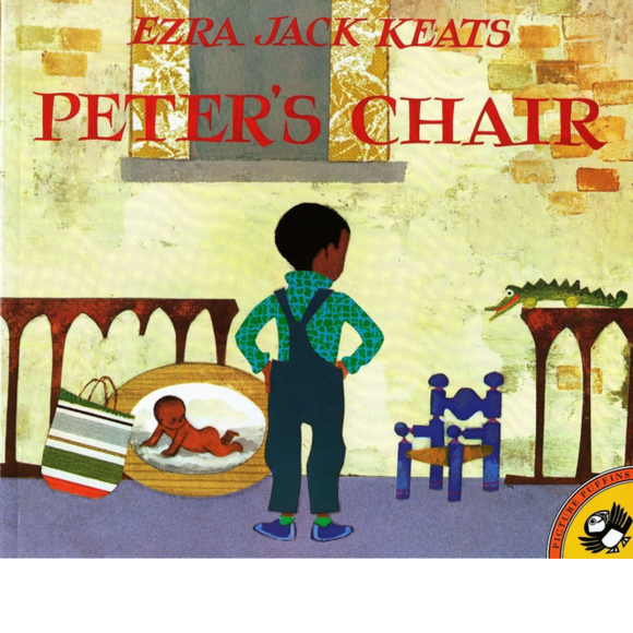 Peter's Chair by Ezra Jack Keats, published in paperback by Puffin Books