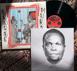 Pack shot of Furaha Wenye Gita by George Mukabi showing the album sleeve, record and booklet with George Mukabi's photograph on the front