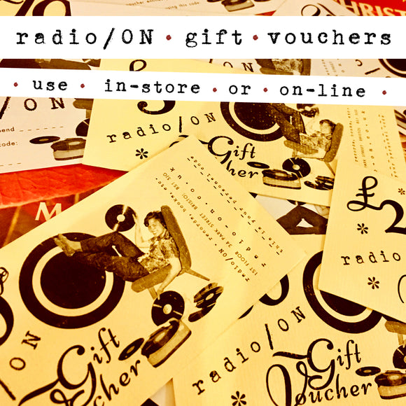 image of radio/ON gift vouchers
