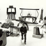 Harry Partch and his instruments