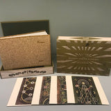 The Harry Smith B-Sides on Dust To Digital. Image shows the cigar box, book and four CD sleeves