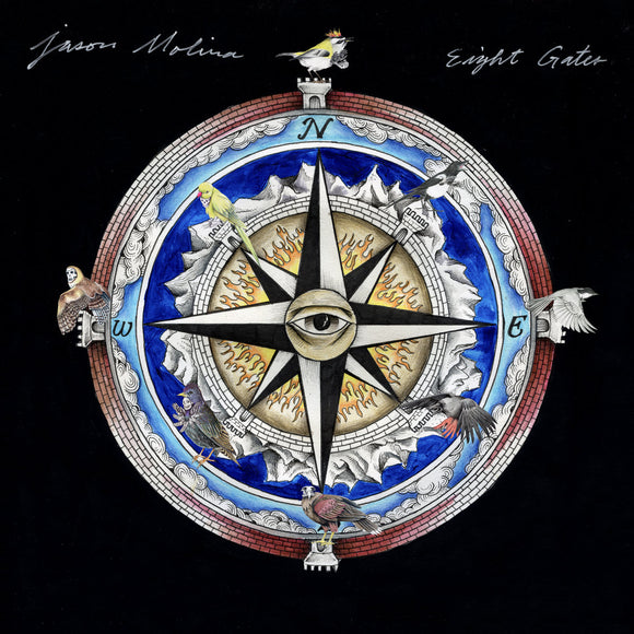 Eight Gates by Jason Molina on Secretly Canadian Records