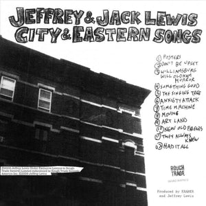 City & Eastern Songs by Jeffrey & Jack Lewis on Don Giovanni Records