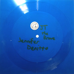 JT The Brave flexidisc by Jennifer Denitto on Mole In The Ground Records