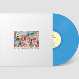 Limited blue vinyl edition of Sand In My Show by Kath Bloom & Loren Connors on Chapter Music