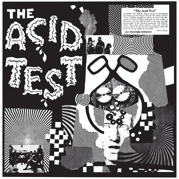 The Acid Test by Ken Kesey on Jackpot Records