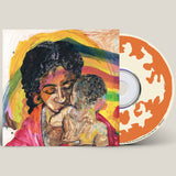 CD edition of For My Mama And Anyone Who Look Like Her by McKinley Dixon on Spacebomb Records (the album artwork by Amber Pierce & Travis Robertson is a colourful painting of a mother and baby; there is no text on the artwork)