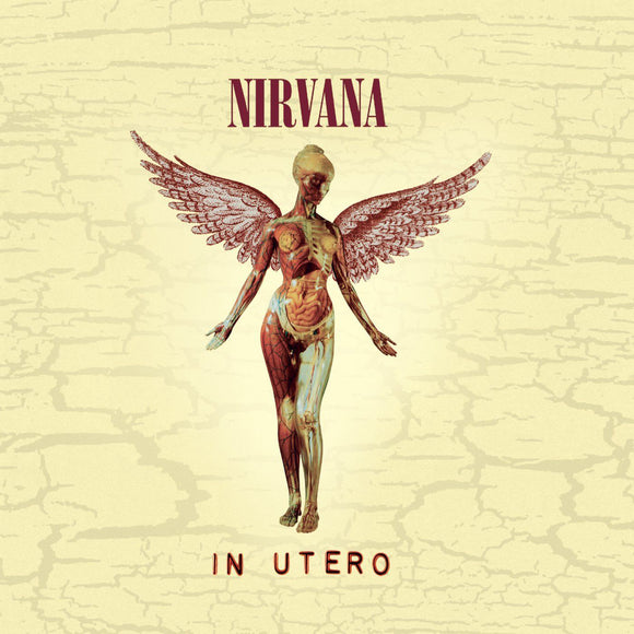 In Utero by Nirvana on Geffen Records
