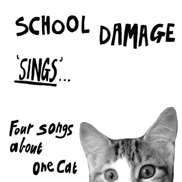 School Damage Sings Four Songs About One Cat on Upset The Rhythm