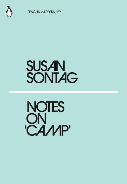 Susan Sontag - Notes On Camp