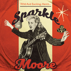 "Sparkle Moore 10"" EP on Vip Vop Records"