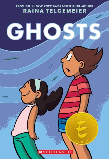 Ghosts by Raina Telgemeir, published in paperback by Scholastic