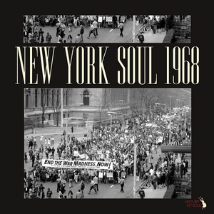 New York Soul 1968 compilation album on History Of Soul Records
