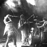 A photograph of The Who live at The Monterey International Pop Festival in 1967