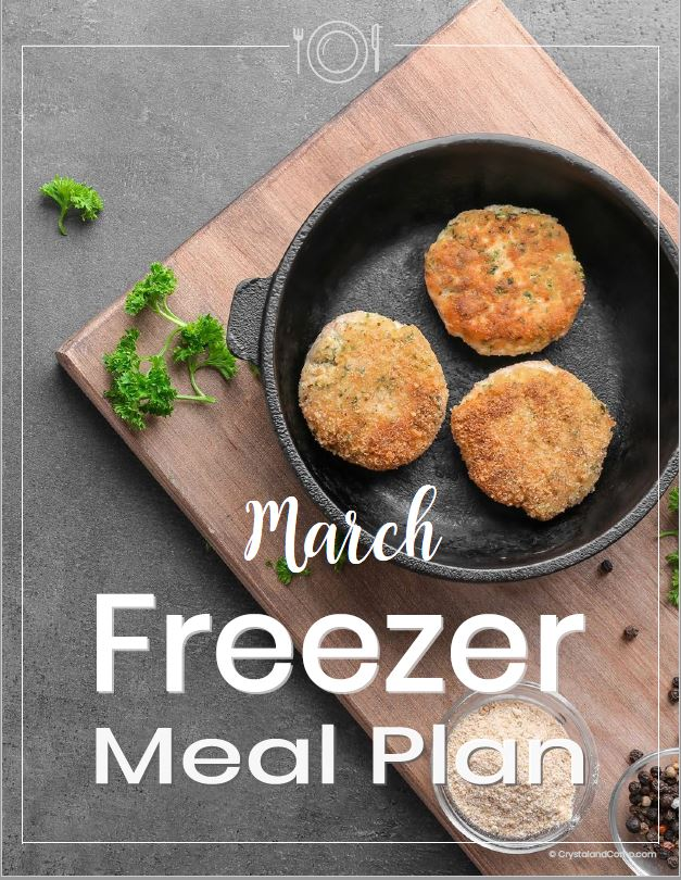 March 2019 Freezer Meal Plan