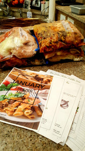 Freezer Meal Plan January