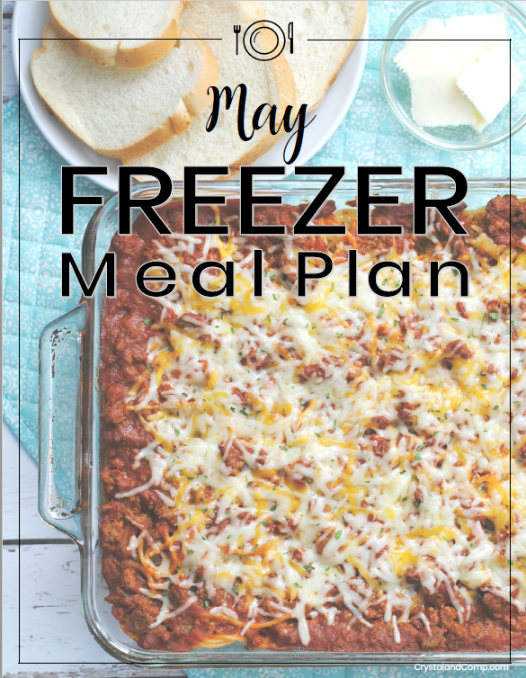 Freezer Meal Plan May