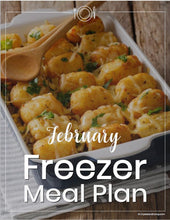February 2019 Make Ahead Dinners and Breakfasts