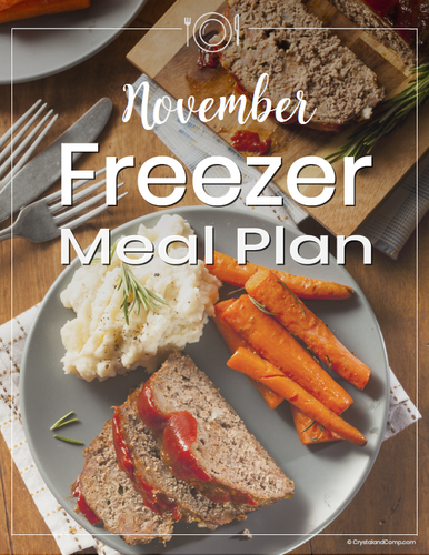 November Freezer Meal Plan
