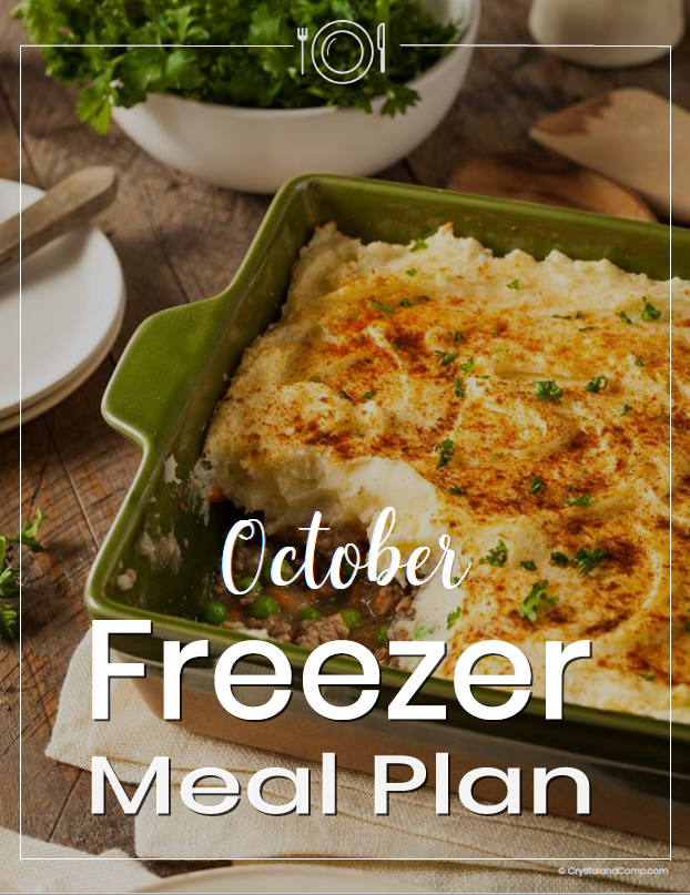Freezer Meal Plan October
