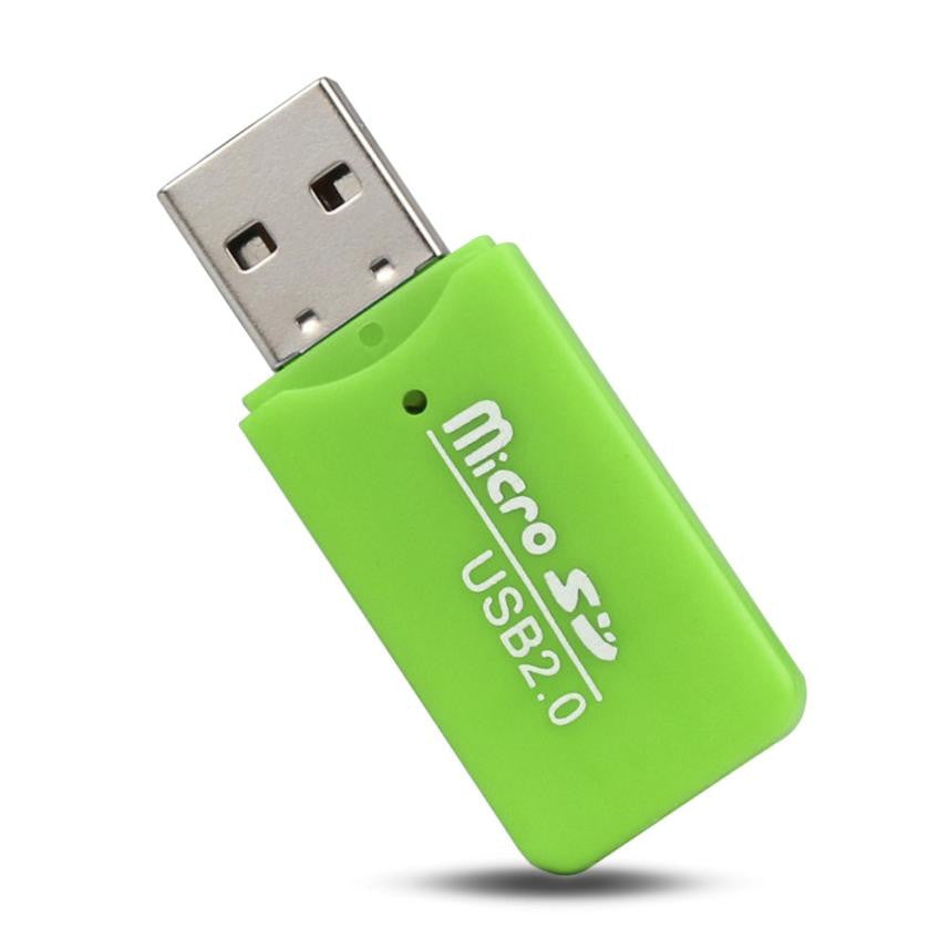 2017 High Speed Mini USB 2.0 Micro SD TF T-Flash Memory Card Reader Adapter Micro In Mobile Phone Cable#20