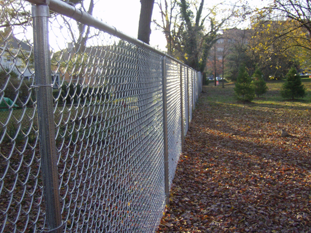72 Quot Residential Galvanized Chain Link America S Fence Store