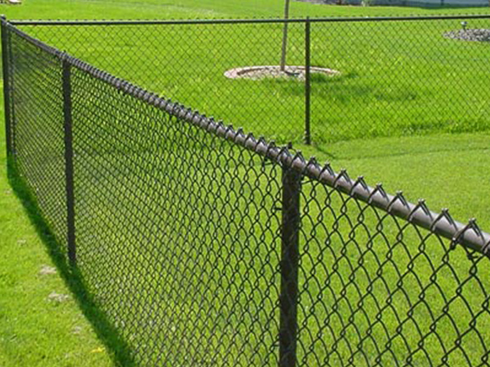 42 Quot Vinyl Coated Residential Chain Link America S Fence