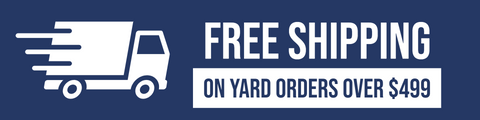 Free Shipping on Full Yard Fence Orders Over $499