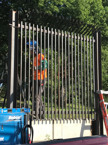 Facebook security ornamental fencing