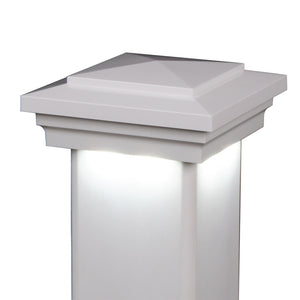 "5"" x 5"" Cape May Downward Low Voltage LED Light Post Cap (Box of 6)"