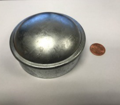 Steel Dome Cap 2-1/2