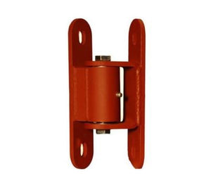 LiftMaster Std. Duty Adjustable Roller Cage Bearing Hinge - Bolt Gate, Bolt Post (Prime Coated) Sold in pairs.