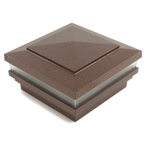 "5"" Sq. Low Voltage Cape May Post Cap (Box of 6)"
