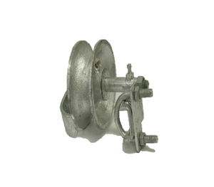 "5"" Safe T Malleable Rear Wheel Assembly"