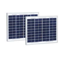 Gate access control solar panels