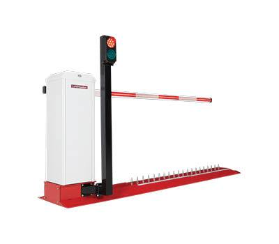 Motorized Integrated Barrier Gate Traffic Spike Solution (Surface Mount)