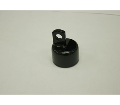 Black Combo Rail End 1-5/8""
