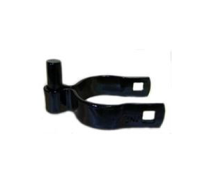 Black Male Hinge 2-1/2""