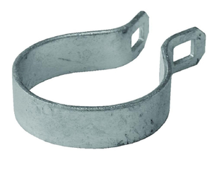 "2-1/2"" Galvanized Steel End Band"