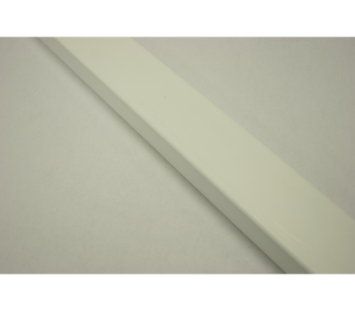 "Ribbed Rail (Gold Series) 1-1/2"" x 5-1/2"" x 16' White"