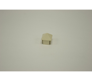 "Tan Sharp Picket Cap 1-3/8"" x 1-3/8"""