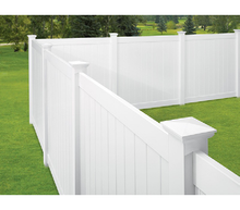 "Ribbed Picket 3/4"" x 5-3/4"" x 16' White"