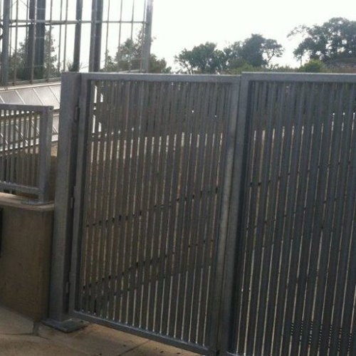 Vertical Louver Panel America S Fence Store