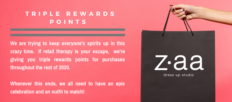 Triple Rewards Points for 2020!