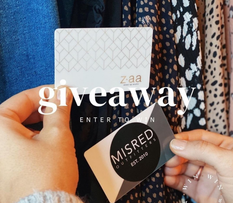 April giveaway - partnering with area boutiques in Downtown St. Petersburg!