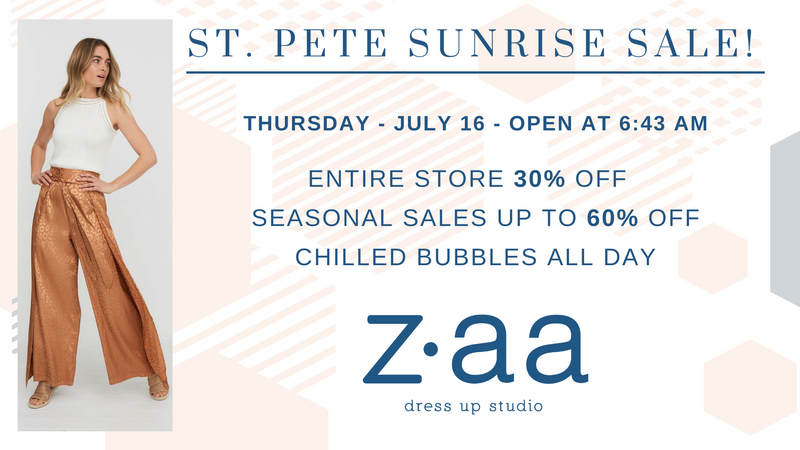 Sunrise Sale Returns for 2020!