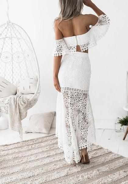 Esley Lace Bodycon Set