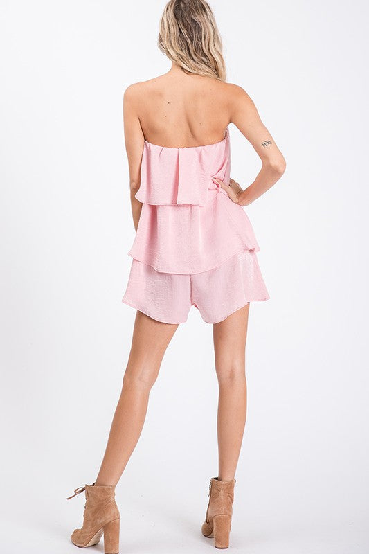 Tiered Ruffle Romper