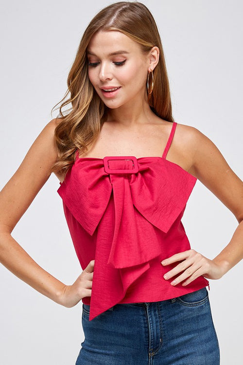 Oversize Bow Top